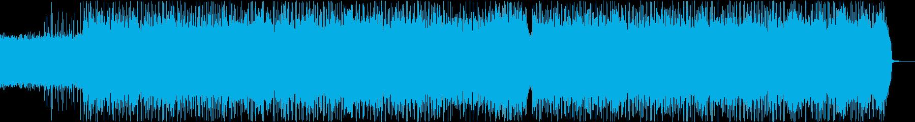 シンプルでハードなオルタナティブロックの再生済みの波形