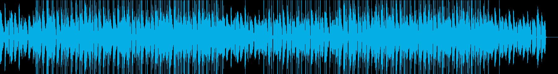 メロウなブレイクビーツの再生済みの波形