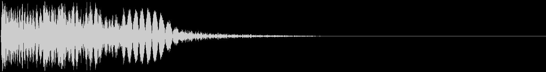 ドバーン(ダメージ・強撃・一撃・打撃系)の未再生の波形