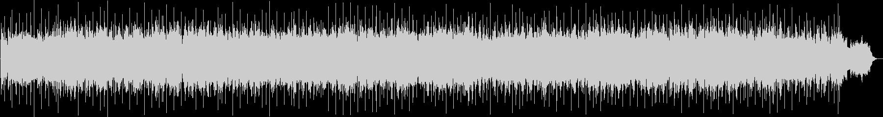 ふわふわとした雰囲気のスローBGMの未再生の波形
