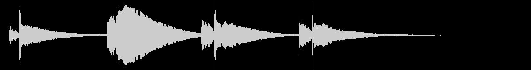 Vibraphone:降下ドロップ...の未再生の波形