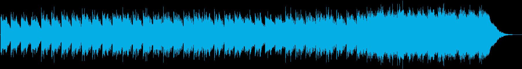 神秘的なチルアウトの再生済みの波形