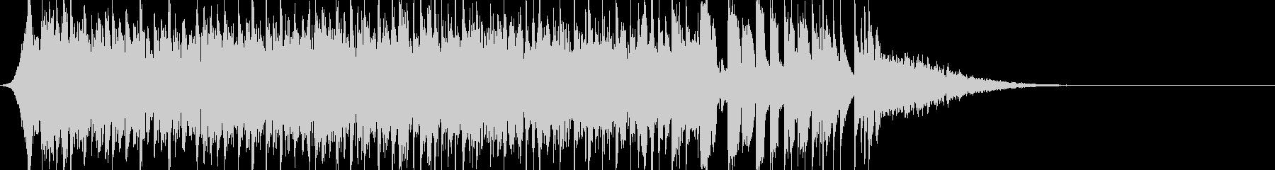 EDM風イントロ(インパクト系)です。の未再生の波形