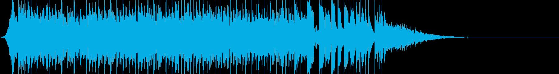 EDM風イントロ(インパクト系)です。の再生済みの波形