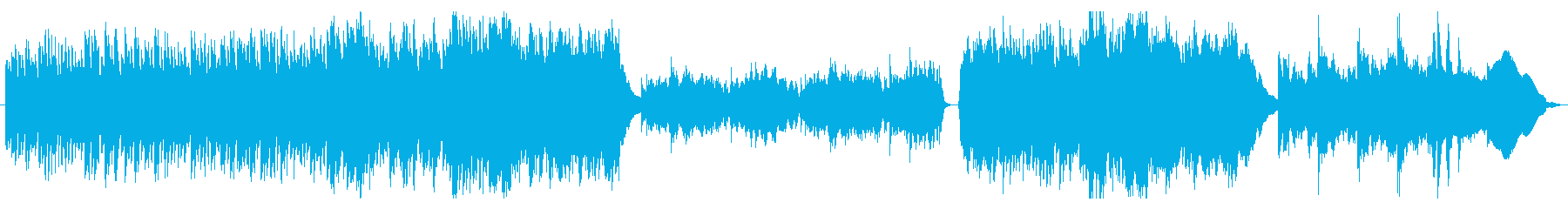 [Drama accompaniment] For serious conversation scenes's reproduced waveform