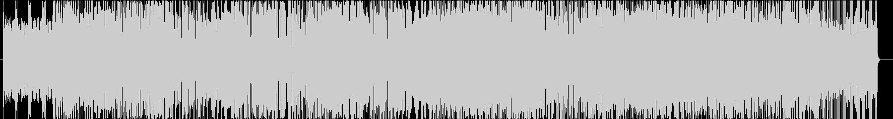 スリリングで複雑なピアノジャズロックの未再生の波形