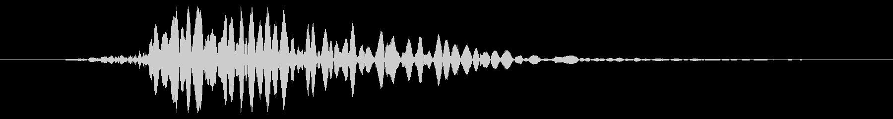 ワーム モンスター キャラタップ 通常の未再生の波形