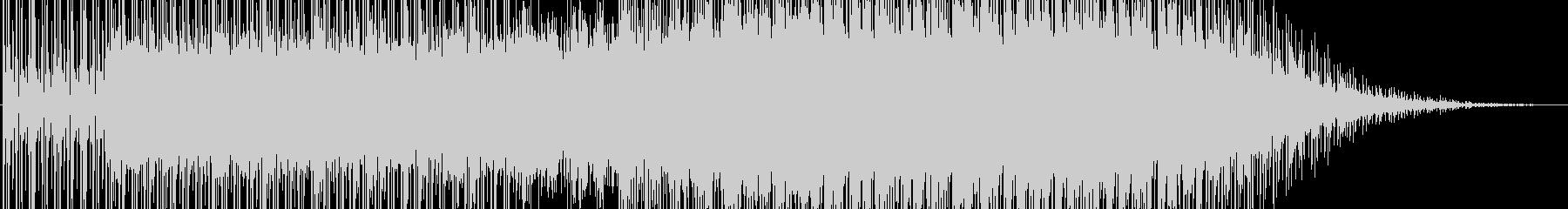 フルートの残響が綺麗なテクノの未再生の波形
