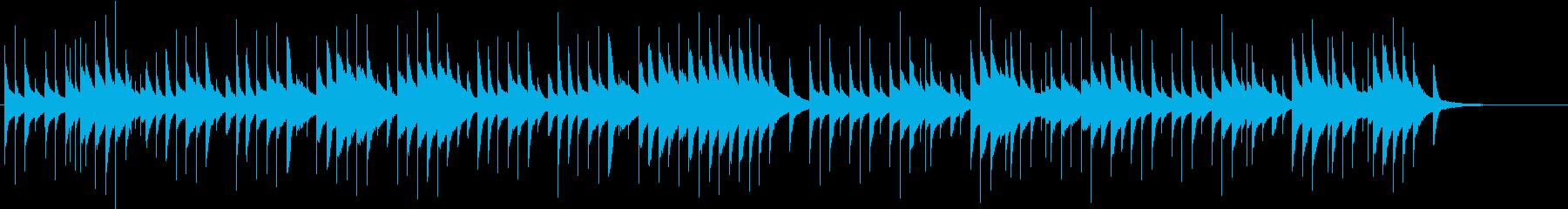 ジングルベルをオルゴールでの再生済みの波形