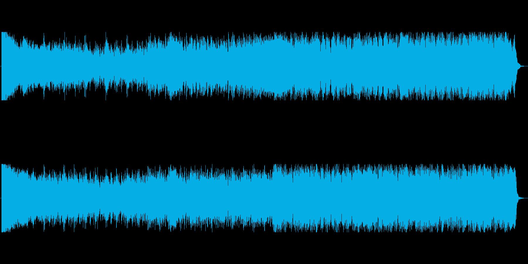 重くて激しめな強そうなボスキャラ曲の再生済みの波形