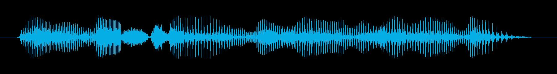 シニア男性A:1つの良いターンに値するの再生済みの波形