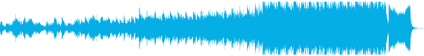シネマティックなテクスチャーの再生済みの波形
