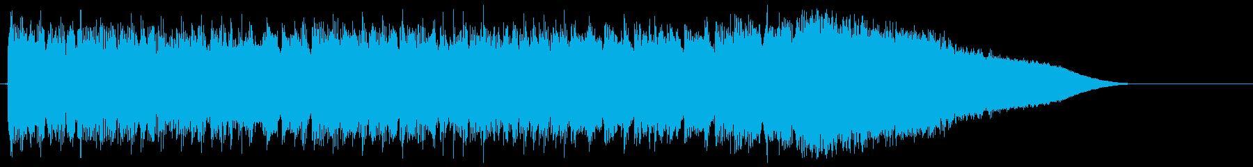 メタル イントロ ジングル 生演奏の再生済みの波形