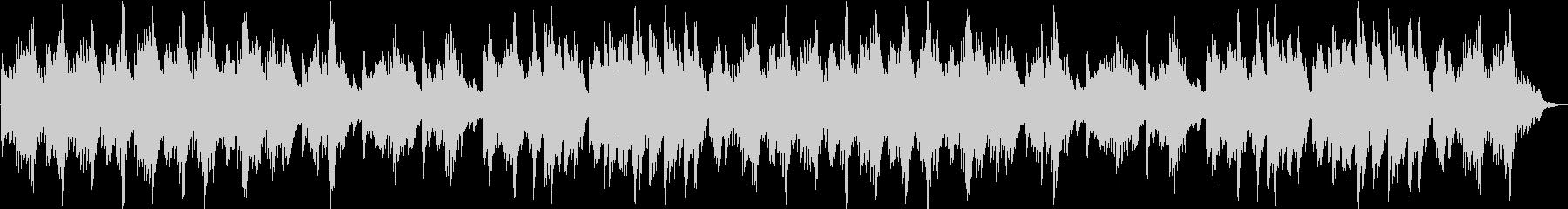 不思議で浮遊感のあるダークメルヘン曲の未再生の波形