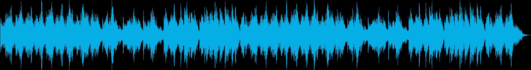 不思議で浮遊感のあるダークメルヘン曲の再生済みの波形