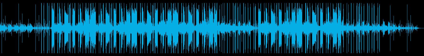 優しいオルゴールのチル・ヒップホップの再生済みの波形