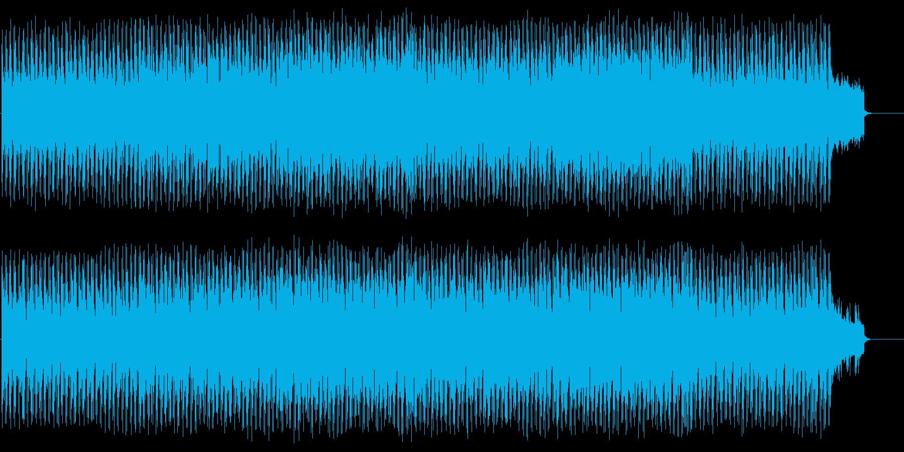 疾走感のあるモダンなポップスの再生済みの波形