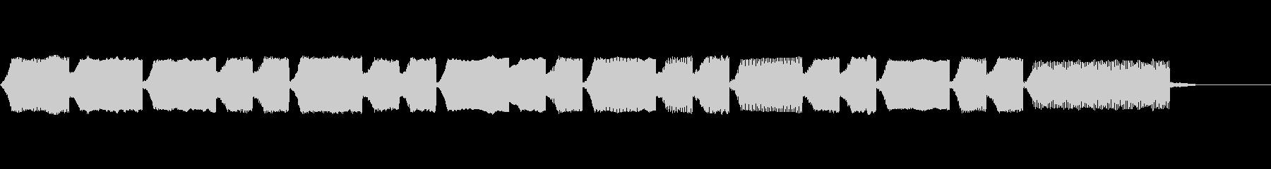 ファミコンセーブ音2の未再生の波形