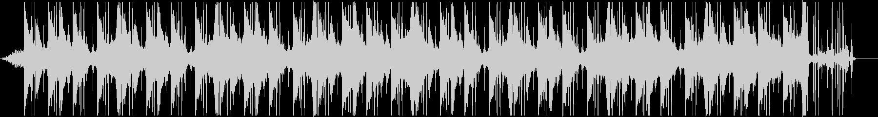 余韻のあるアンビ系チル、Lo-fiの未再生の波形