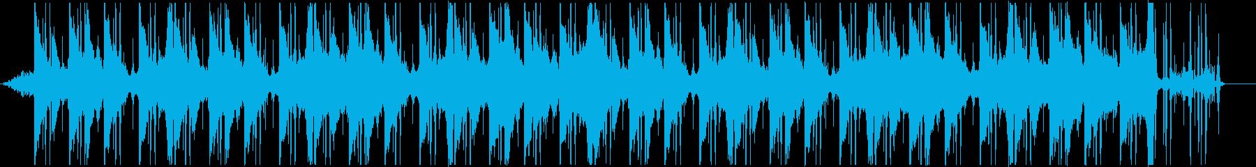 余韻のあるアンビ系チル、Lo-fiの再生済みの波形