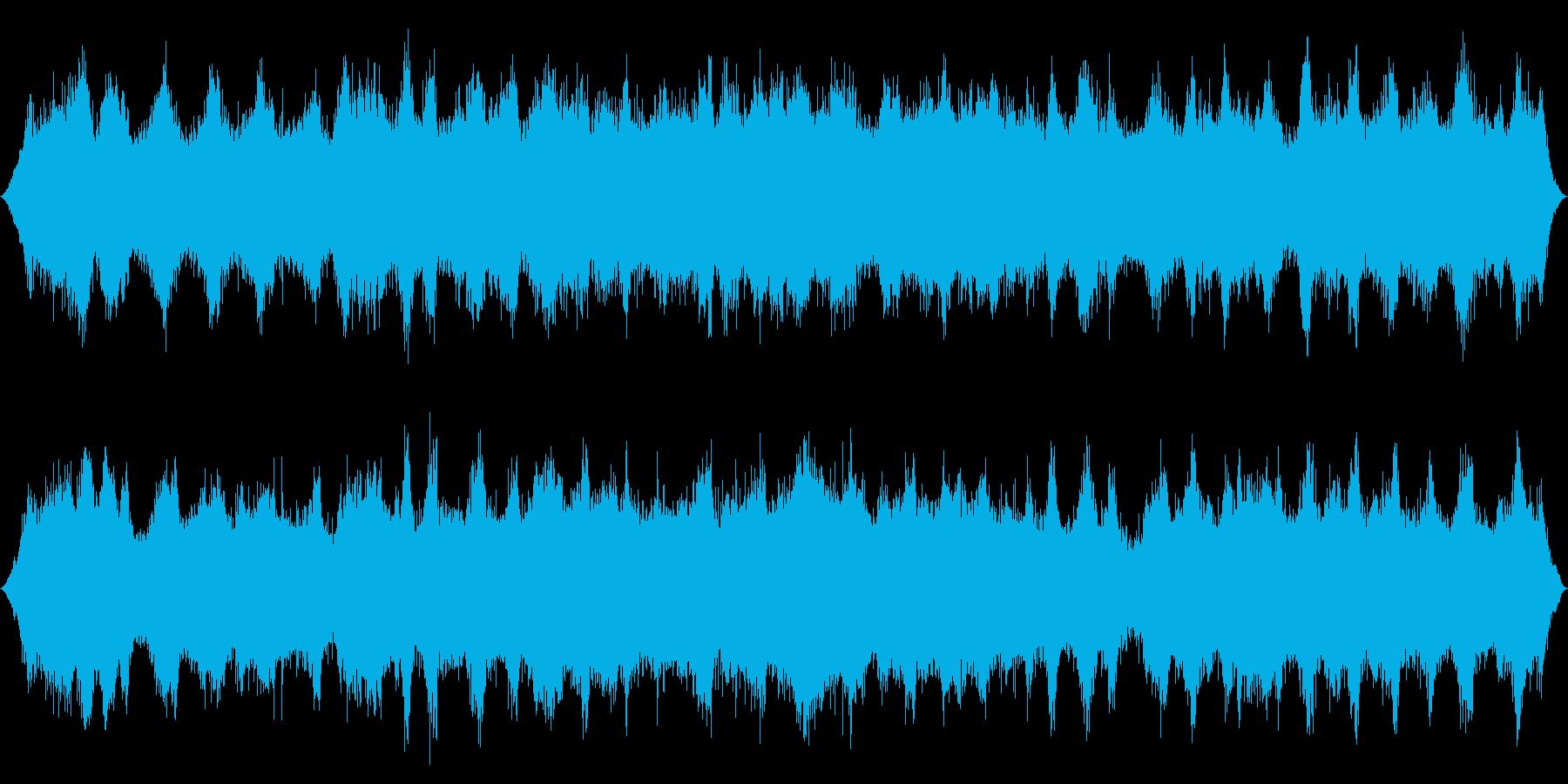 オーシャン:ヘビーに来る波の再生済みの波形