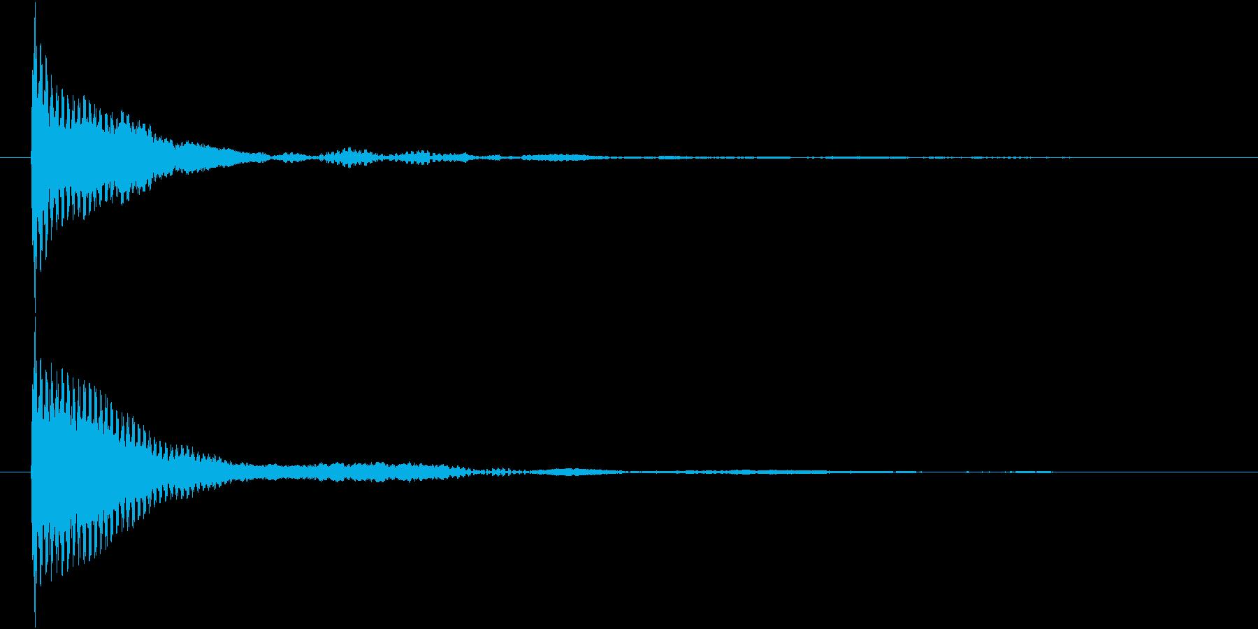 ポン カーソル音 タップ音 G-08_の再生済みの波形
