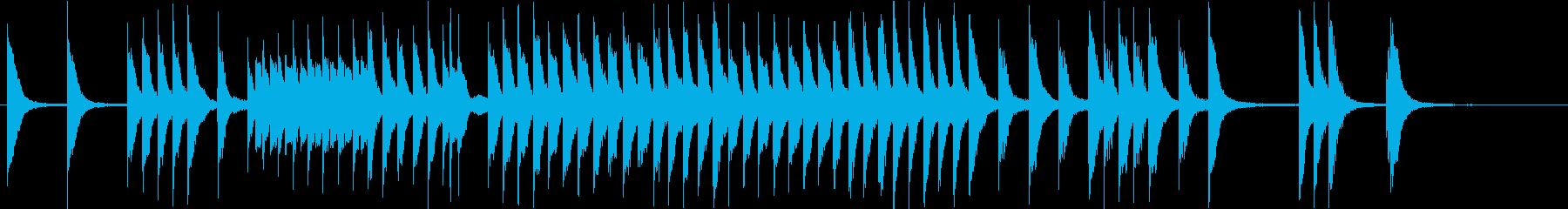 元気で軽快な子供/ペット映像 ピアノソロの再生済みの波形