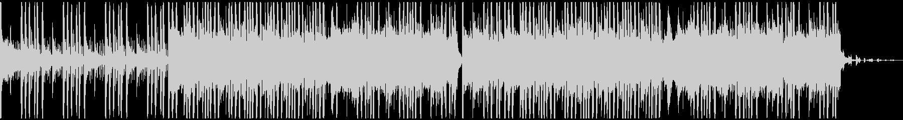 EDM・フューチャーベース風BGMの未再生の波形