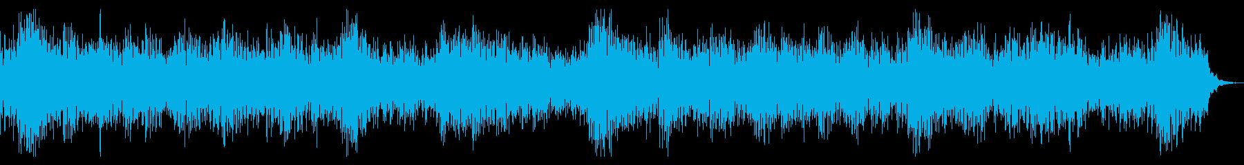 幻想的感動系BGM,動画用の再生済みの波形