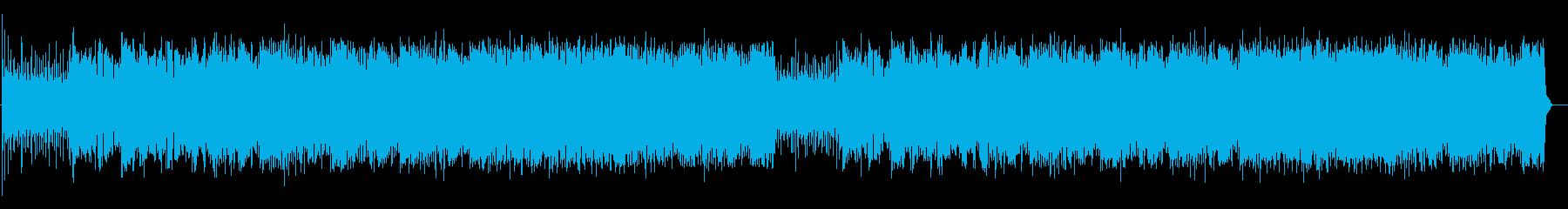 Retro, sprinting, cool, bad's reproduced waveform