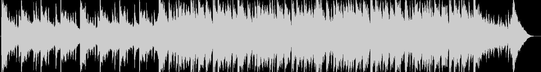 和む、でも少しクールなBGM-60秒の未再生の波形
