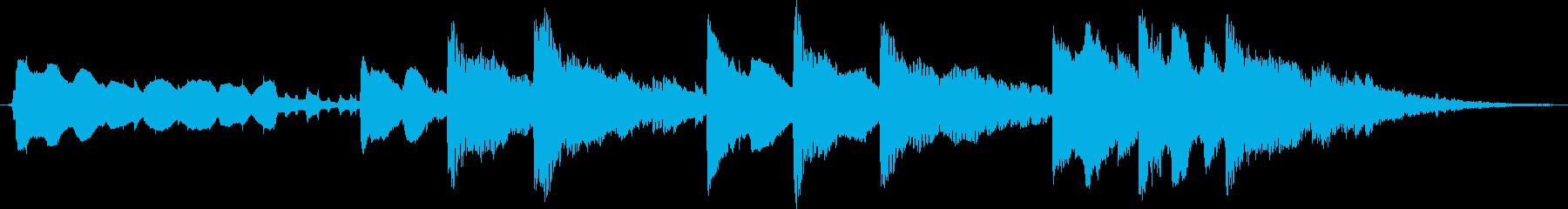 美しく控えめなアンビエント/ポップ...の再生済みの波形
