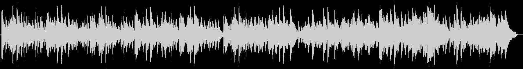幻想的で綺麗なピアノBGM10の未再生の波形