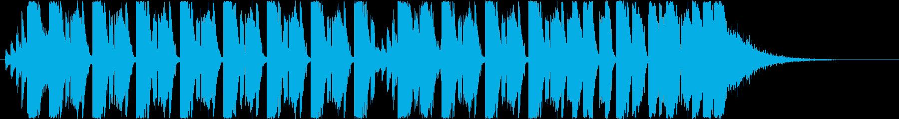 テクノのんの再生済みの波形