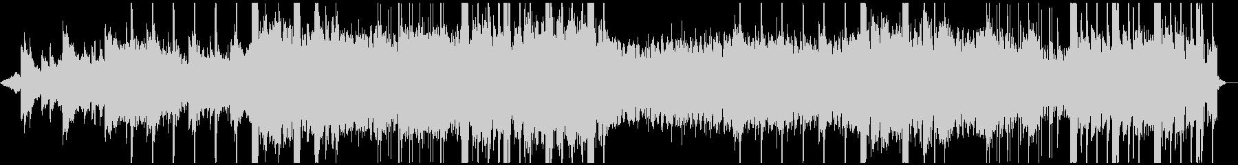 ノイズが印象的なピアノ曲ですの未再生の波形
