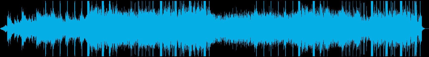 ノイズが印象的なピアノ曲ですの再生済みの波形