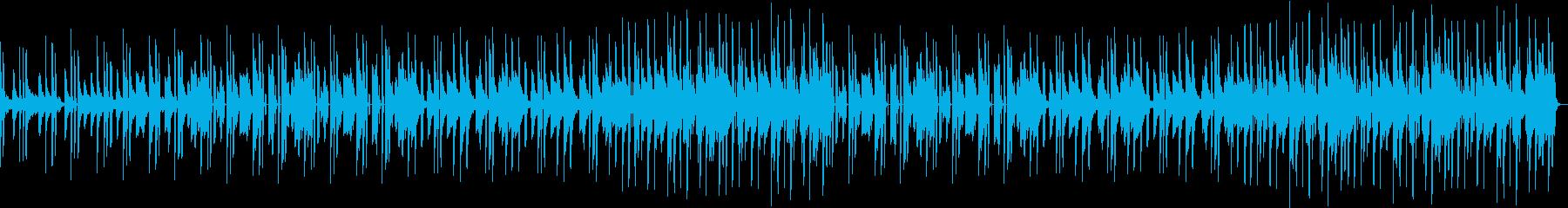 ピアノのゆったりしたポップスの再生済みの波形