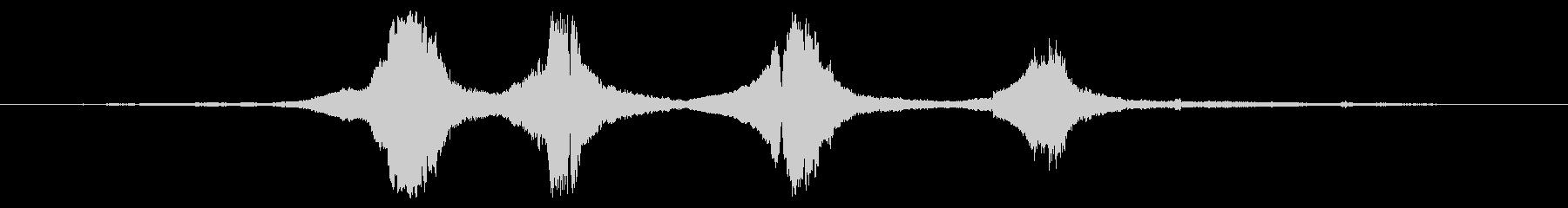 サイドカー:非常に高速な4つの近接パスの未再生の波形