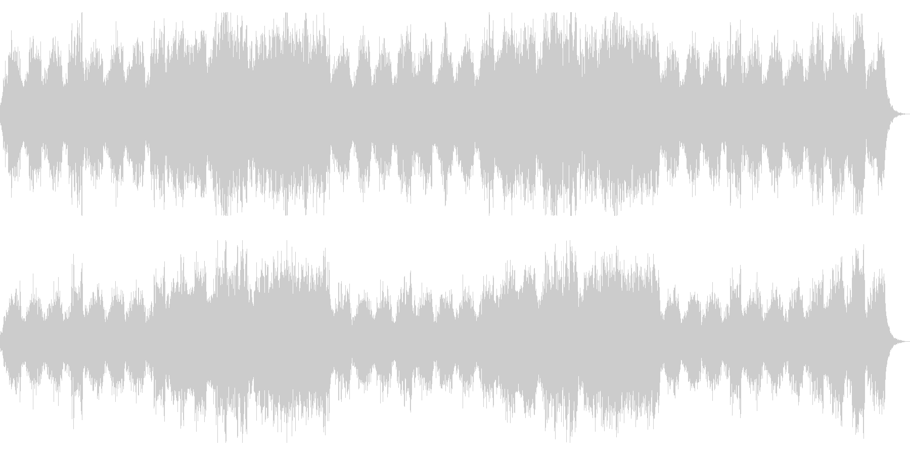 恐怖を演出 ホラー向けシネマチックBGMの未再生の波形