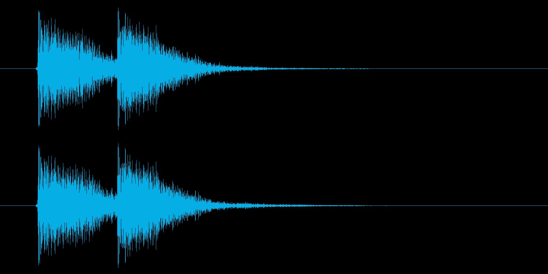 ジャン!ジャン!(オチ、オーケストラ)の再生済みの波形