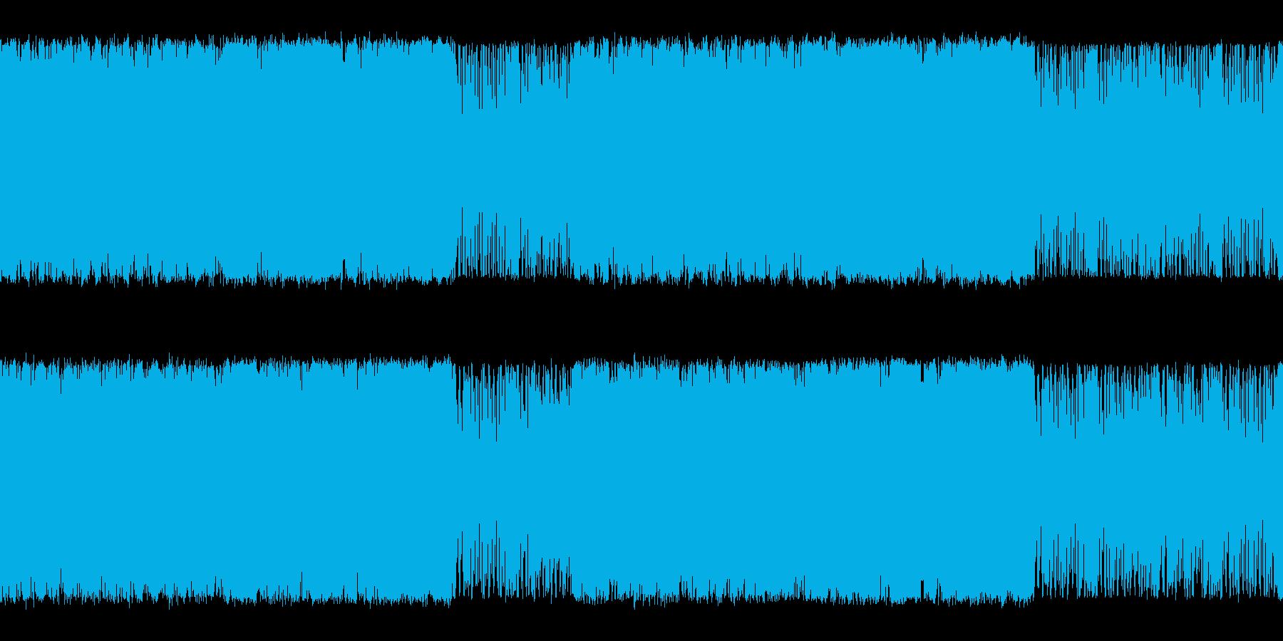 オーケストラ変拍子系の曲の再生済みの波形