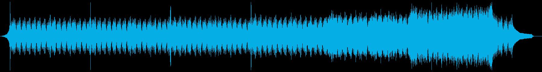 企業VP映像、111オーケストラ、爽快bの再生済みの波形