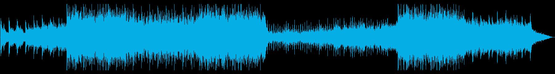 弦楽シューゲイザー哀愁メロ切ない系楽曲の再生済みの波形