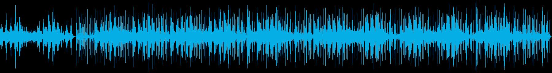 【ループ】優しく奏でるピアノBGMの再生済みの波形