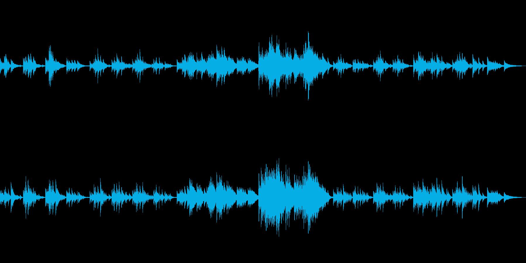 C=528Hz 癒しのソロ・ピアノの再生済みの波形
