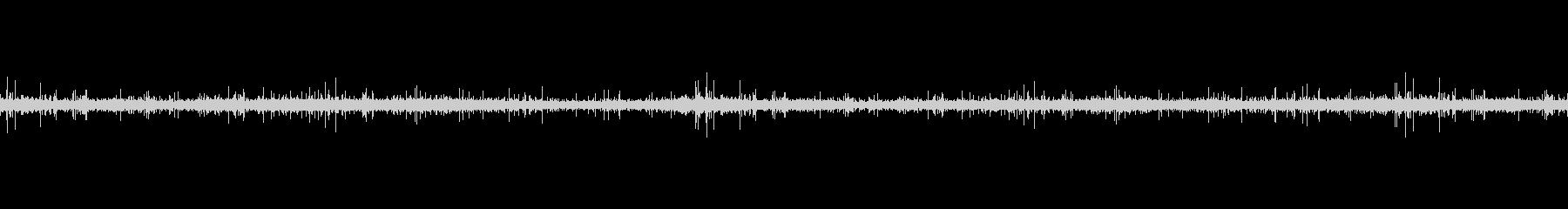 レコードノイズ Lofi ヴァイナル03の未再生の波形