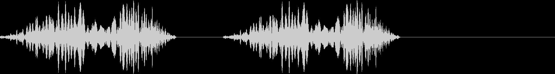 DJプレイ スクラッチ・ノイズ 183の未再生の波形