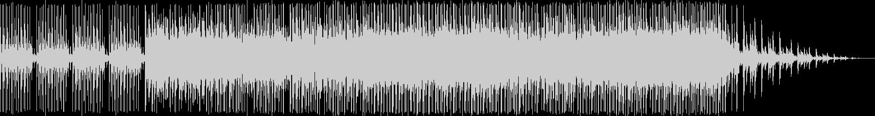 未来的なイメージのハイテンションEDMの未再生の波形