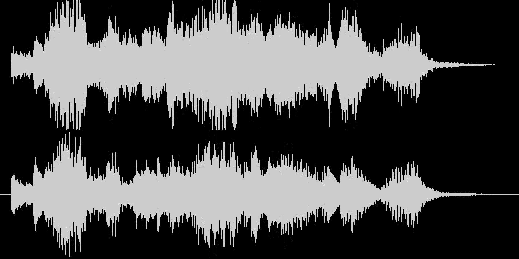 ピアノとバイオリンの調べ 30秒の未再生の波形