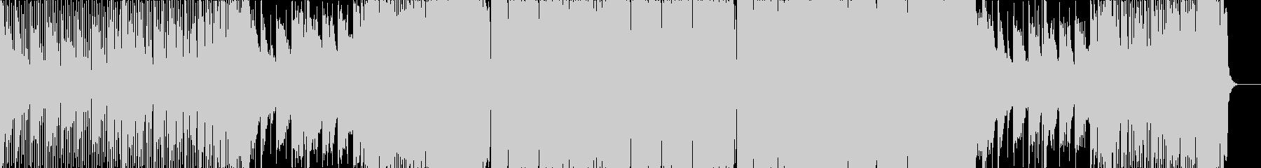 不思議な感じのトラップの未再生の波形